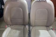 Химчистка сидений авто до и после