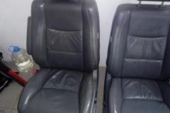 Чистка сидений Toyota Landcruiser Prado - до