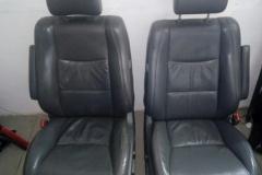 Чистка сидений Toyota Landcruiser Prado - после