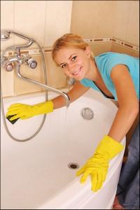 уборка ванных и туалетов в коттеджах, частных домах, квартирах